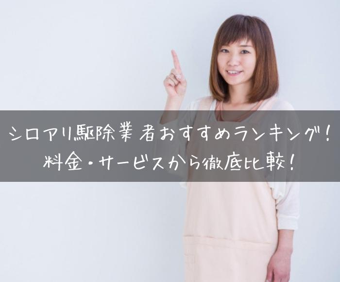 シロアリ駆除業者おすすめランキング~料金・サービスから徹底比較!